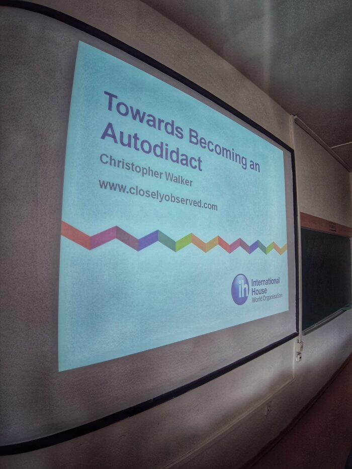 Title Screen - Becoming an Autodidact